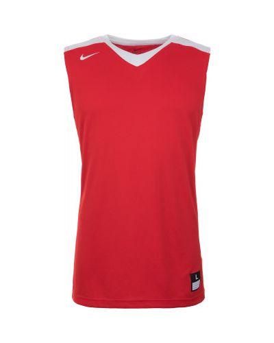 Спортивная майка баскетбольная красная Nike