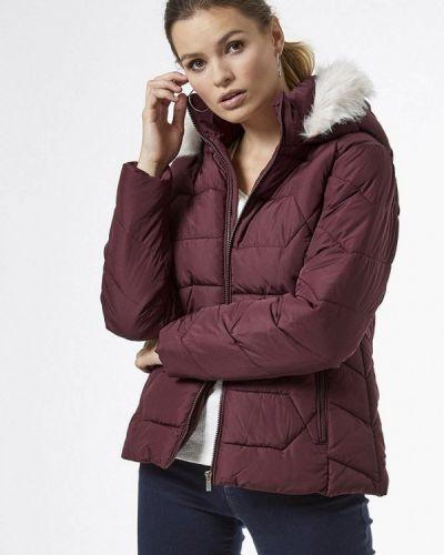 Теплая красная куртка Dorothy Perkins
