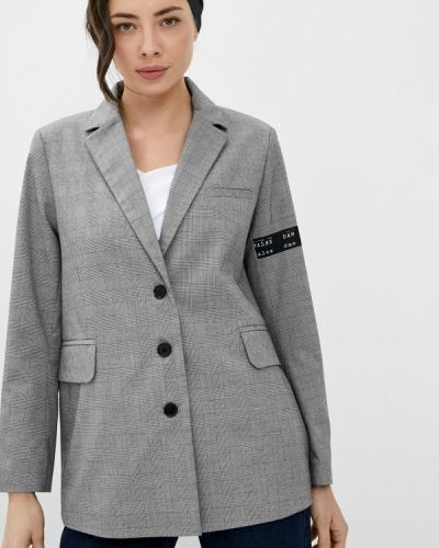 Серый пиджак Danmaralex