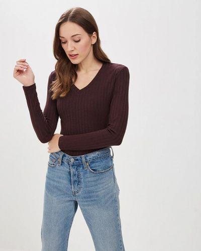 Коричневое боди блуза Trendyangel