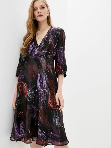 Черное повседневное платье Max&co