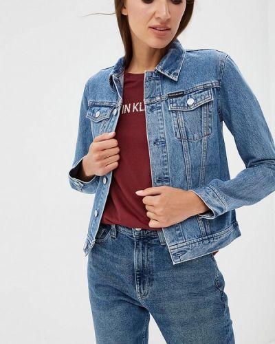 Голубые джинсы Calvin Klein Jeans