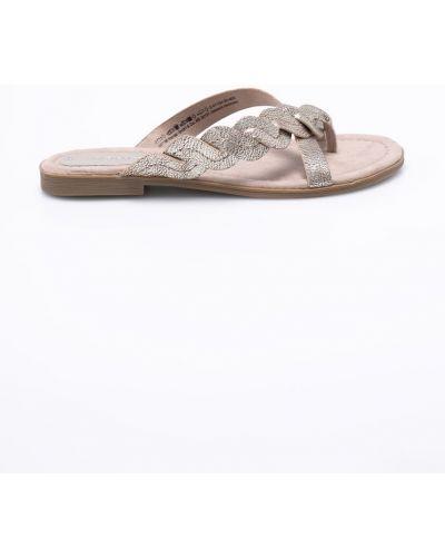 Коричневые сандалии резиновые Marco Tozzi