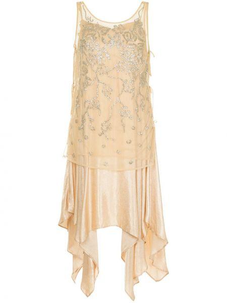 Платье гэтсби бежевое Muller Of Yoshiokubo
