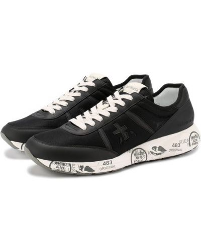 Черные кроссовки Premiata
