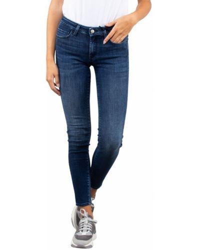 Niebieskie jeansy rurki Roy Rogers