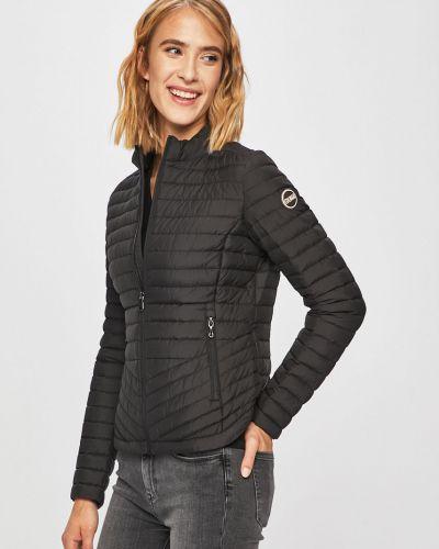 Прямая черная облегченная стеганая куртка Colmar