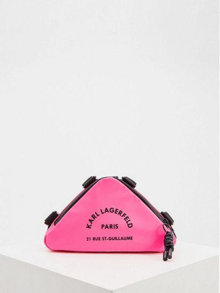Сумка через плечо розовый весенний Karl Lagerfeld