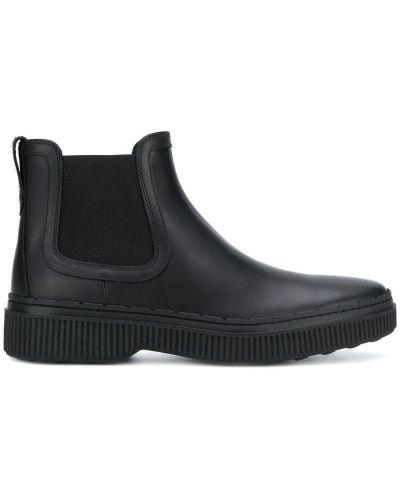 Ботильоны черный кожаный Tods