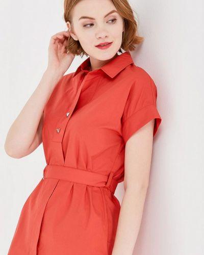Оранжевое платье Savage