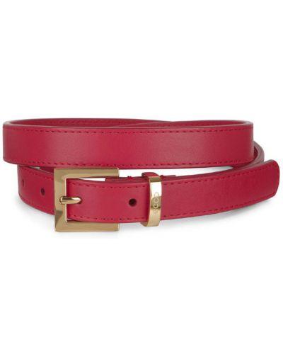 Ремень металлический красный Ecco