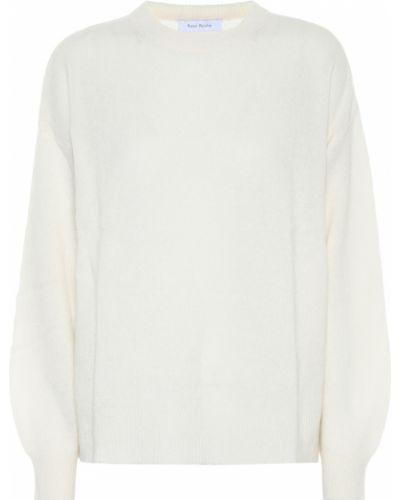 Белый кашемировый свитер Ryan Roche