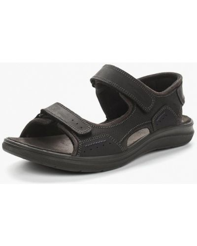 Черные сандалии кожаные Salamander