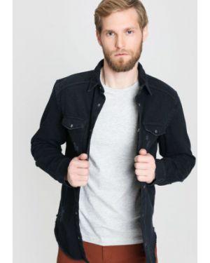 Джинсовая рубашка с карманами на кнопках Ostin