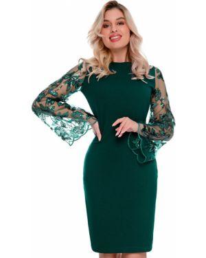 Платье для выпускного с вышивкой Nikol