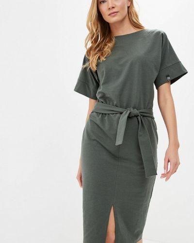 Платье польское зеленый Bewear