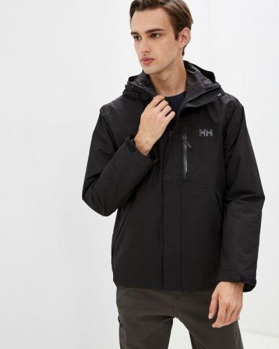 Черная куртка утепленная Helly Hansen