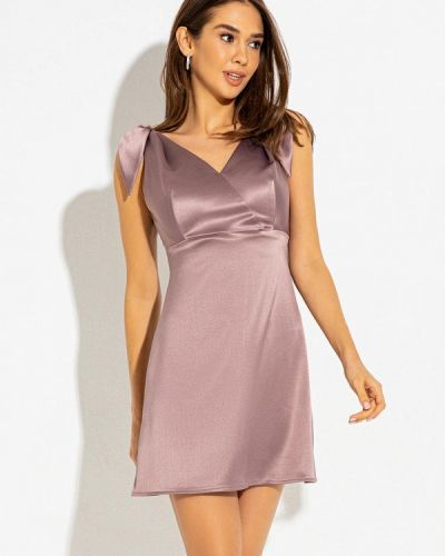 Фиолетовое вечернее платье Itelle