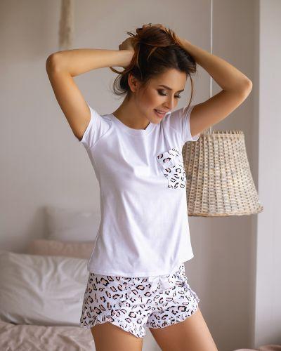 Пижама с шортами Violet Delux