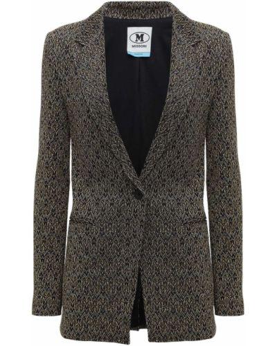 Пиджак золотой с подкладкой с люрексом M Missoni
