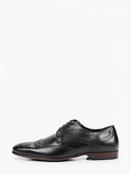 Кожаные черные туфли Burton Menswear London