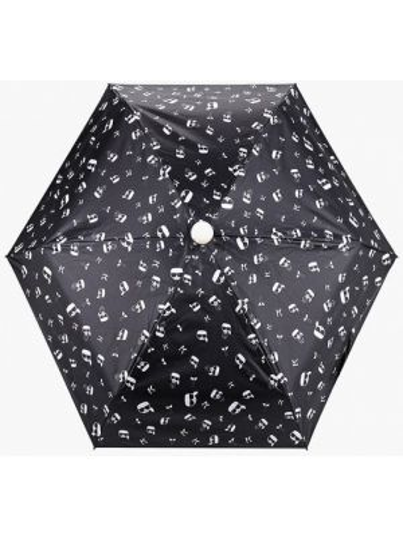 Зонт складной черный Karl Lagerfeld