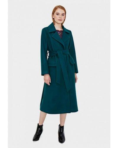 Пальто демисезонное зеленое Sultanna Frantsuzova