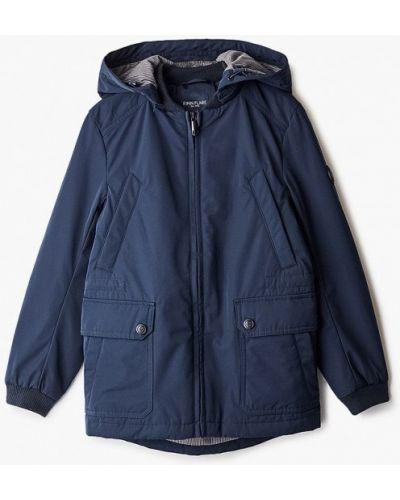 Расклешенная свободная синяя куртка Finn Flare
