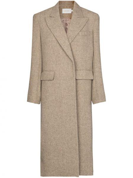 Пальто классическое с карманами со шлицей Low Classic