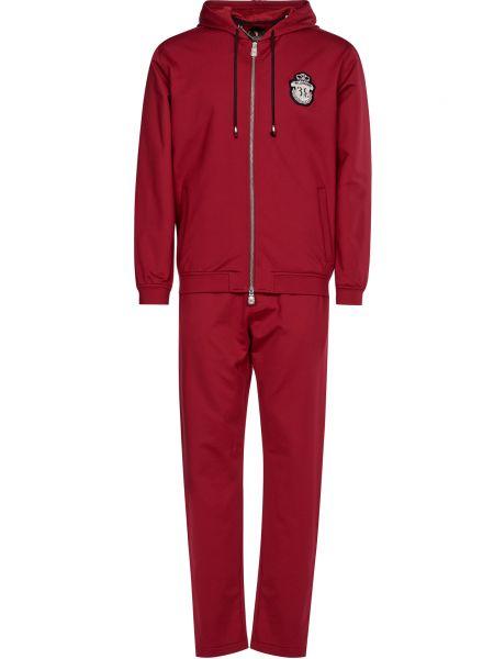 Спортивный костюм на молнии - красный Billionaire