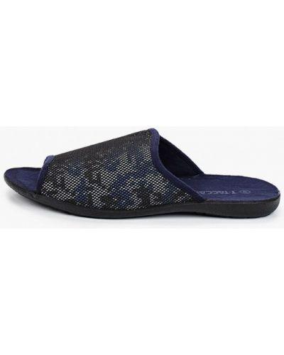 Текстильные тапочки - синие T.taccardi