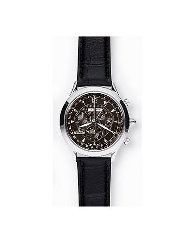 Часы водонепроницаемые с кожаным ремешком швейцарские Charmex