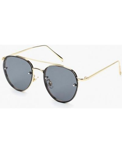 Солнцезащитные очки золотого цвета Kawaii Factory