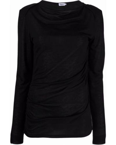 Koszulka z długimi rękawami - czarna Filippa K
