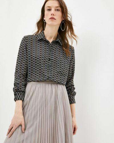 Черная блузка с длинными рукавами Villagi