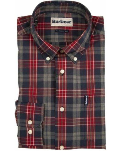 Czerwona koszula Barbour