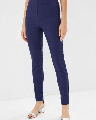 Синие брюки с завышенной талией Love Republic
