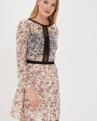 Платье весеннее бежевое Morgan