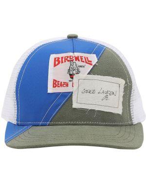 Niebieski kapelusz Greg Lauren