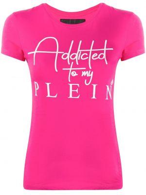 Koszula krótkie rękawy z nadrukiem Philipp Plein