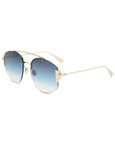 Солнцезащитные очки с градиентом тонкий Dior