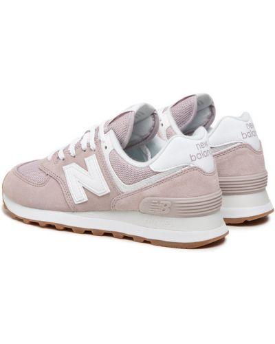 Różowe sneakersy New Balance