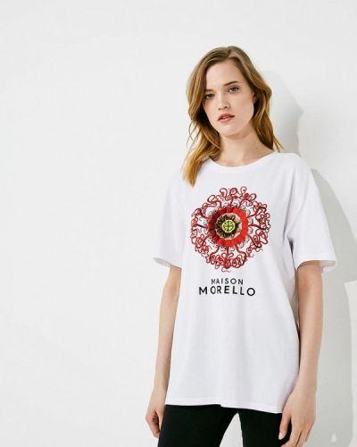Белая футболка Frankie Morello