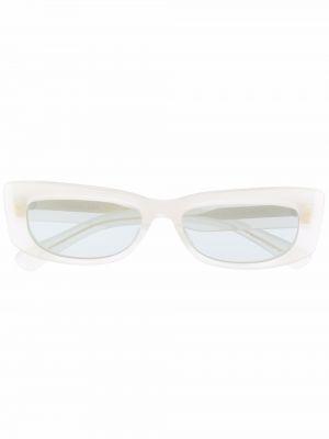 Białe okulary Christian Roth