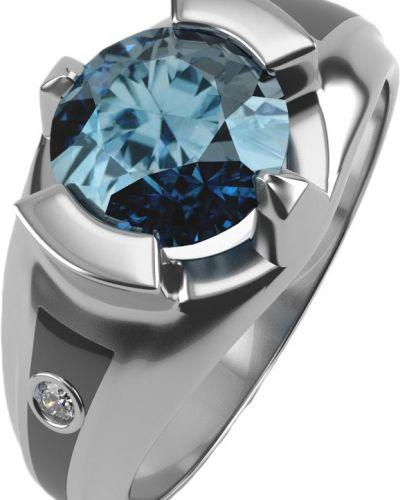 Серебряное кольцо с топазом Graf кольцов