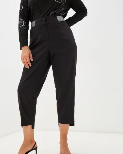 Черные брюки осенние Silver String