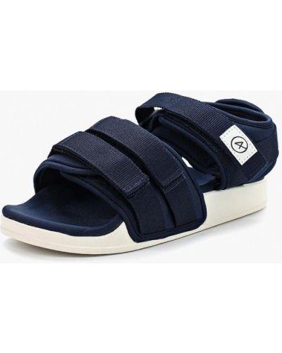 Синие сандалии Affex