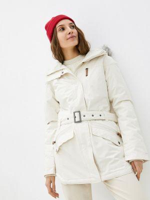 Утепленная куртка - белая Columbia