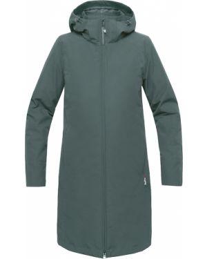 Нейлоновая куртка с капюшоном мембранная на молнии мятная Red Fox