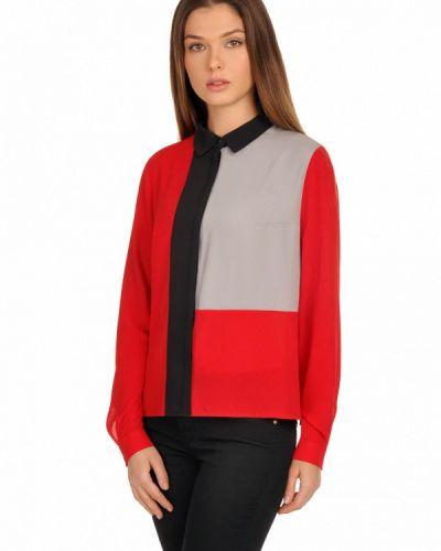 Красная блузка City Jungle